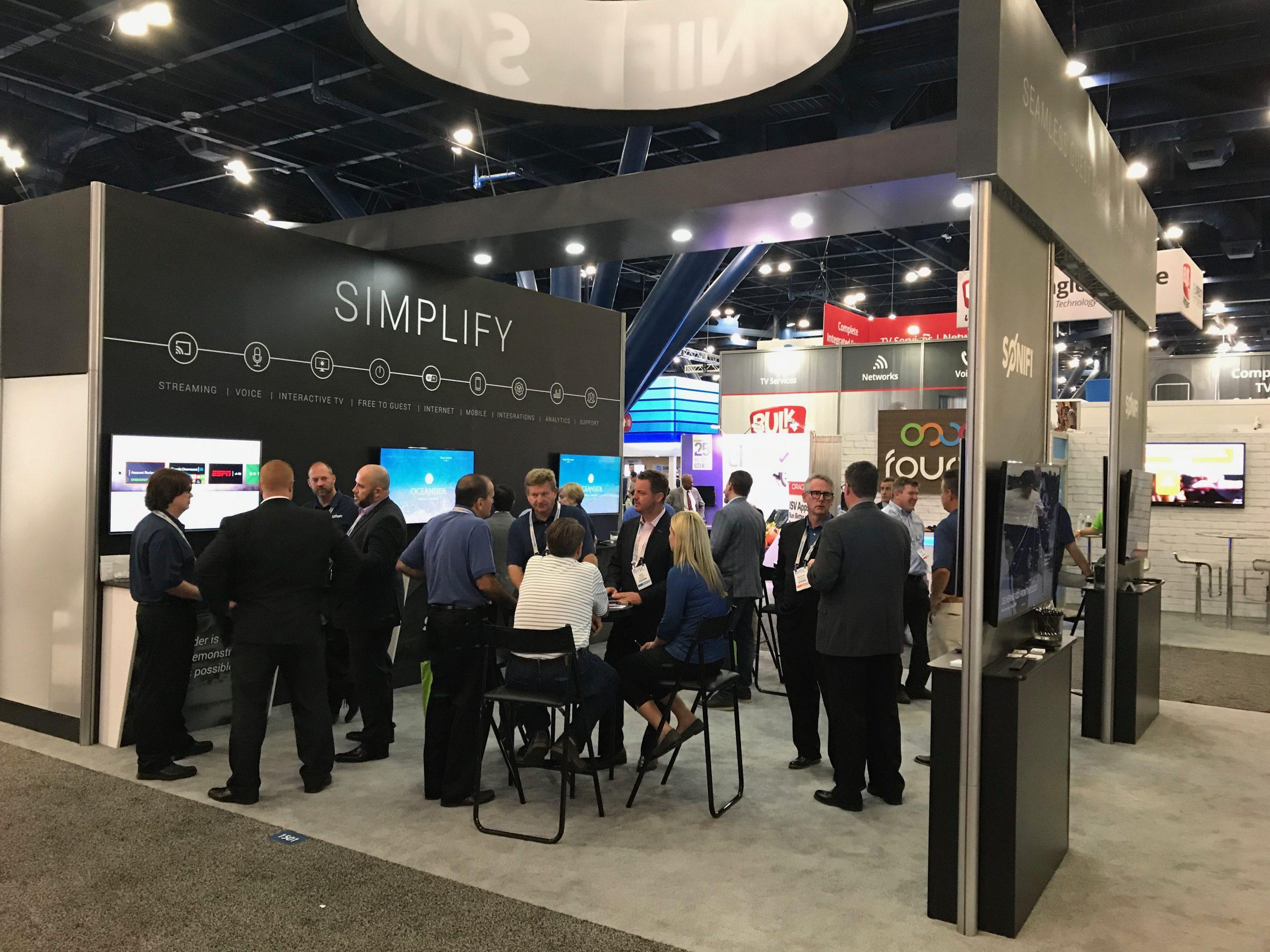 SONIFI Solutions at HITEC 2018