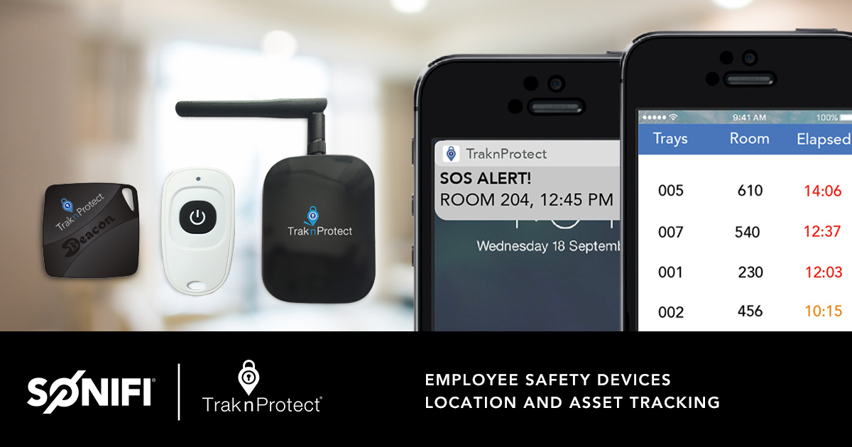 TraknProtect Hospitality Technology
