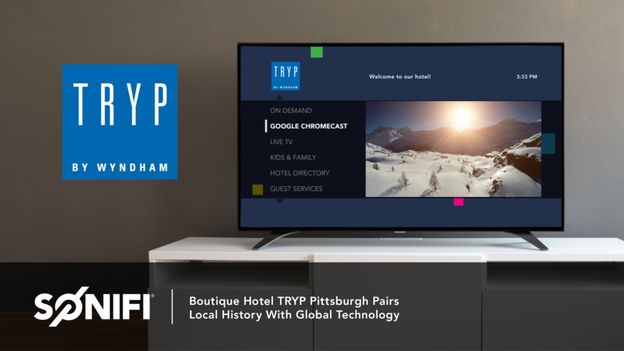 Interactive TV at TRYP Pittsburgh