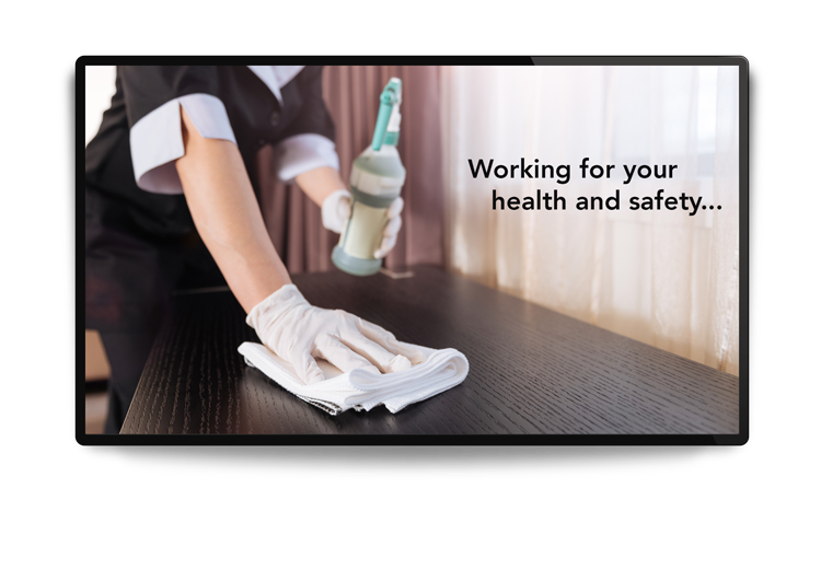 cleaning-tv-message